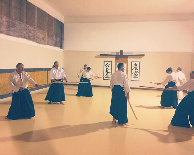 Aikido Musubi Aikido weapons classes