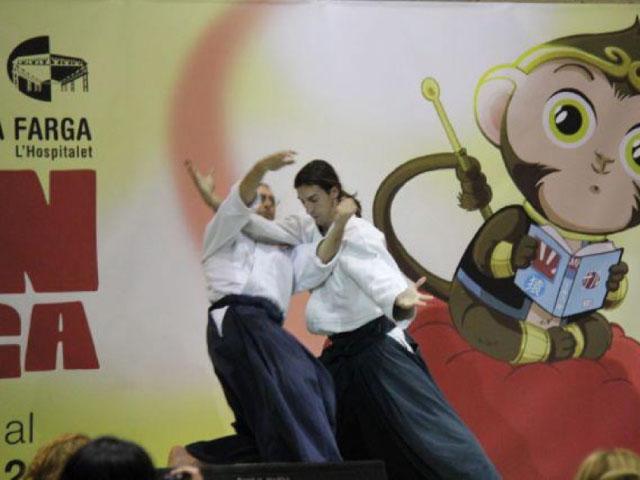 Aikido Musubi Exhibition @ Saló del Manga, 2011