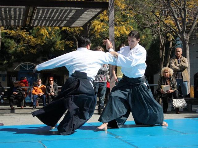 Aikido Musubi Exhibition @ Castelldefels, 2012
