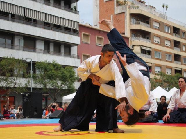 Aikido Musubi Exhibició @ Sant Adrià de Besòs, 2014