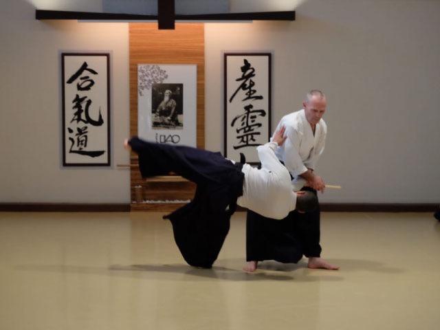 Mike Flynn Shihan 7th Dan Aikikai @ Aikido Musubi, 2019