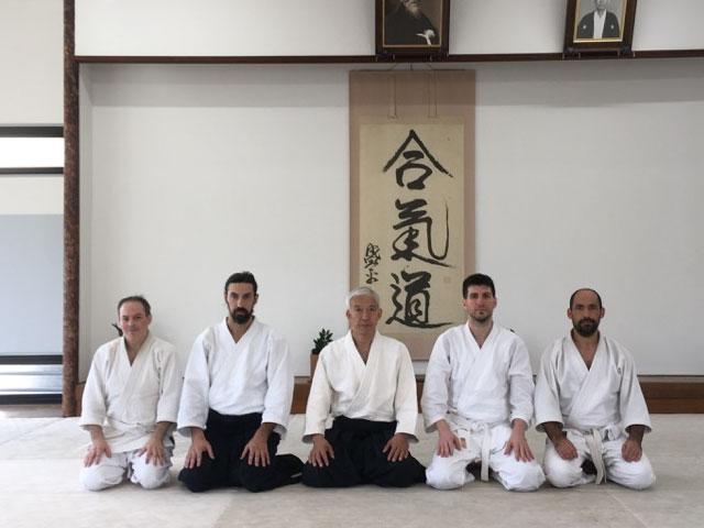 Hombu Dojo @ Tokyo, 2019
