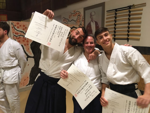 Kyū exams @ Aikido Musubi, 2019