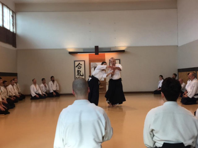 Mike Flynn Shihan 7th Dan Aikikai @ Aikido Musubi, 2020